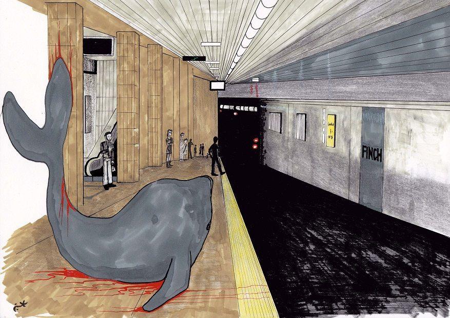 Finch Subway Stn.