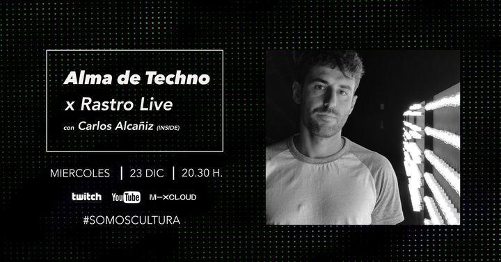 Carlos Alcañiz x Alma de Techno