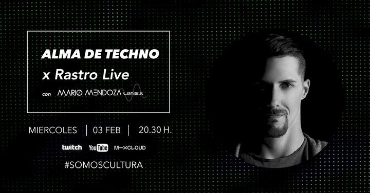 Mario Mendoza x Alma de Techno